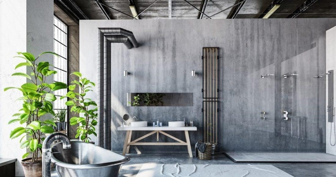 Badkamer Met Gietvloer : Een gietvloer in de badkamer wat zijn de voordelen