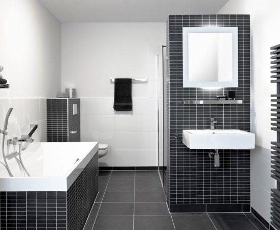 kleine badkamer luxe