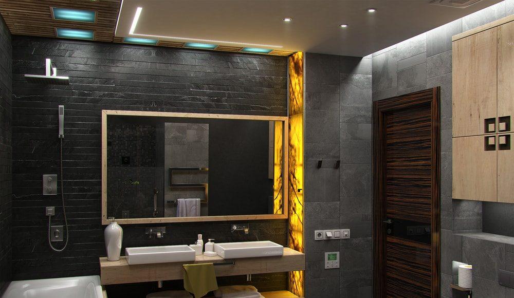 De rol van een bijzettafel in de badkamer
