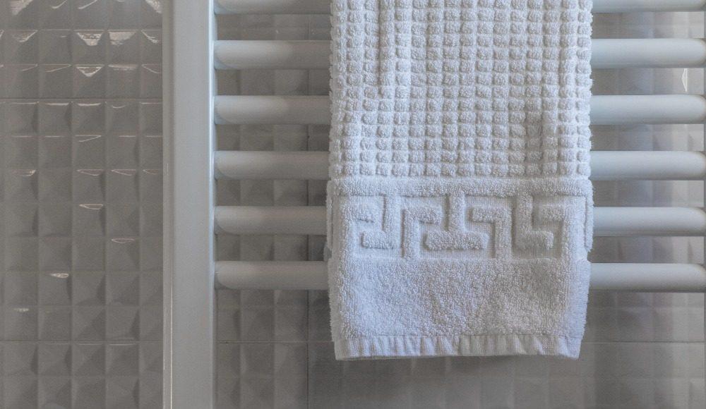 Verwarming in de badkamer